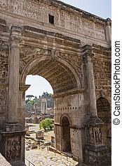 Roman Forum Through ARch