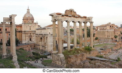 Roman Forum Time Lapse