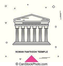 ROMAN PANTHEON TEEMPLE