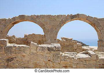 Roman Ruins at Kourion, Cyprus, horizontal picture