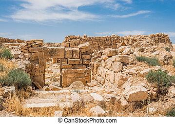 Roman ruins, Um Ar-Rasas, Jordan