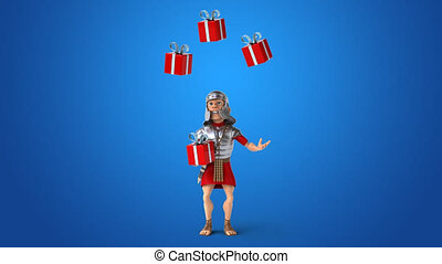 Roman soldier - 3D Animation