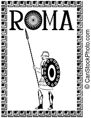 Roman soldier five