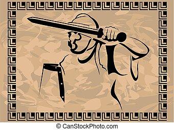 Roman soldier four