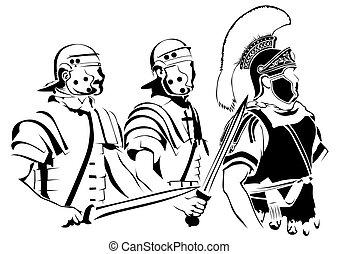 Roman soldier one