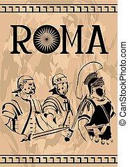 Roman soldier three