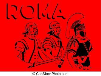 Roman soldier two