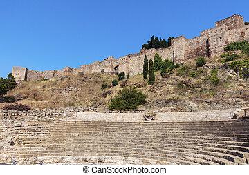 Roman Theater in Malaga