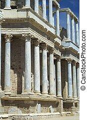 Roman theater in Merida, Spain