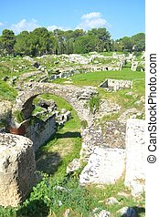 Roman Theater in Syracuse Sicily