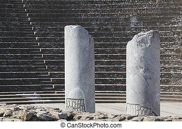 Roman theatre of Fourviere in Lyon