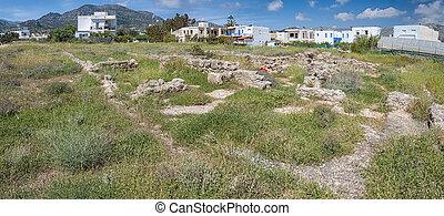 Roman Villa Ruins in Makrygialos