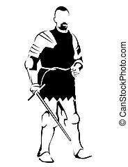 Roman warrior seven