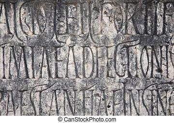 Roman writing background