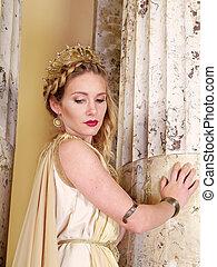 romana, mulher