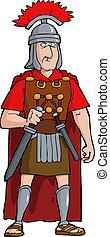 romana, oficial