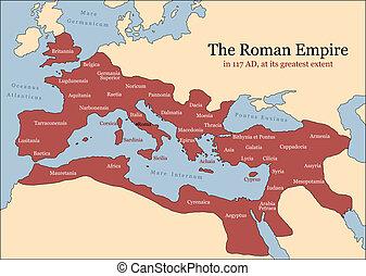 romana, províncias, império