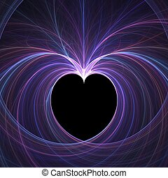 Romance abstract - Abstract fractal background. Computer...