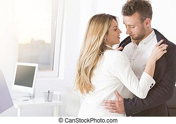 Romance at office