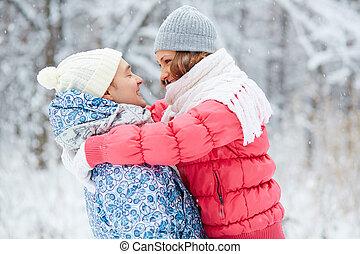 romance, hiver