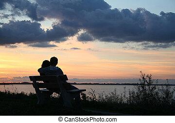 romance, mar