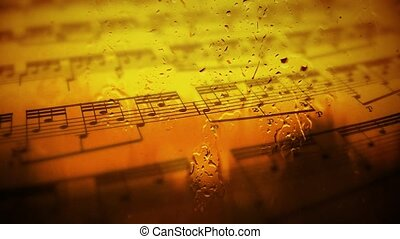 Romance, music, nature sounds. Music of thoughts. 28 -...