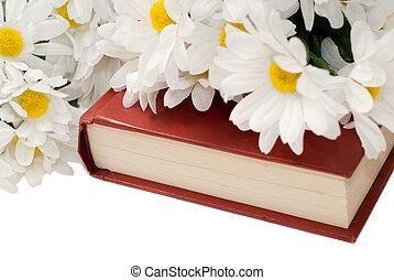 Romance Novel - Closeup view of a romance novel with some...