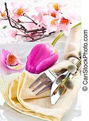 Romance Table setting