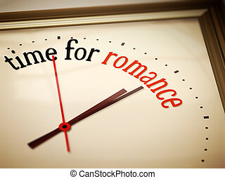romance, tiempo