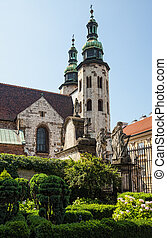 Romanesque church in Krakow - Romanesque church of St Andrew...