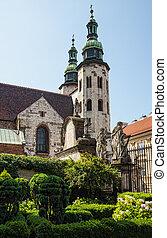 Romanesque church in Krakow - Romanesque church of St Andrew...