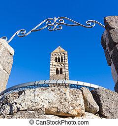 Romanesque church of Santa Trinita di Saccargia. - Santa...