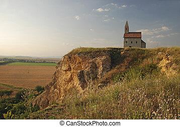 Romanesque church Saint Michael in Slovakia