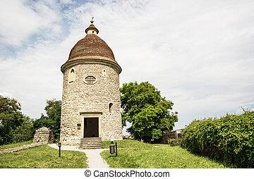 Romanesque rotunda in Skalica, Slovakia, cultural heritage
