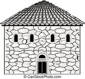 Romanesque style in architecture