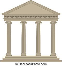 roman/greek, 寺廟