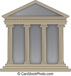 roman/greek, tempel