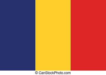 romania flag - romania