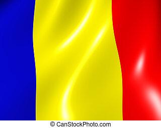 Flag - Romania. National Flag