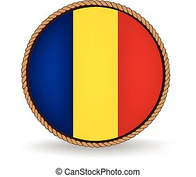 Romania Seal - Flag seal of Romania.