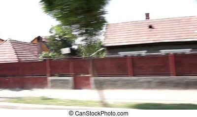 Romania village drive