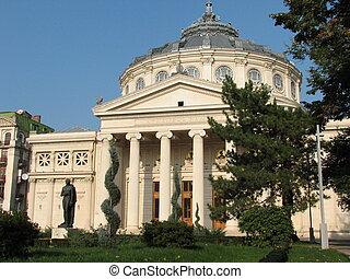 Romanian Atheneum - Bucharest, Romania, Eastern Europe