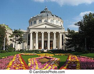 Romanian Atheneum on Calea Victoriei, Bucharest