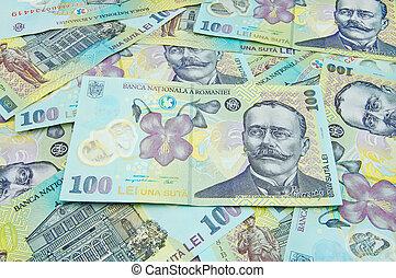 romanian banknotes