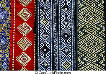 Romanian belts, wide and embroidered-1
