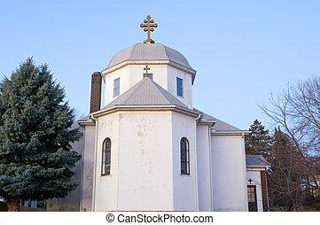 Romanian Orthodox Church Exterior