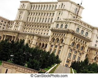 Romanian parliament, Bucharest, Eastern Europe