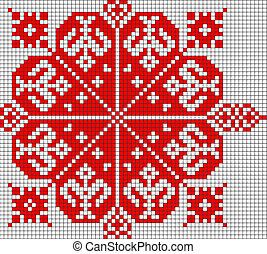 romanian popular pattern - very big size romanian popular ...