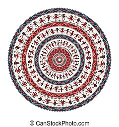 Romanian round element - Traditional Romanian round ...