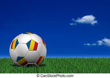 Romanian soccer ball